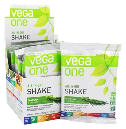 DROPPED: Vega - All-in-One Nutritional Shake Natural - 10 Pack(s)