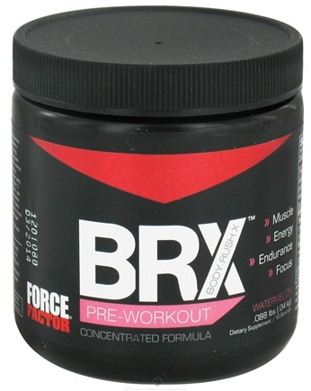 DROPPED: Force Factor - Body Rush X 10 Servings Watermelon - 0.09 lbs. CLEARANCE PRICED