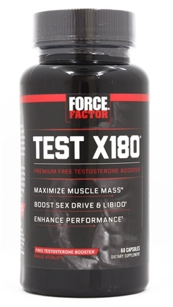 Force Factor - Test X180 Testosterone Booster - 60 Capsules