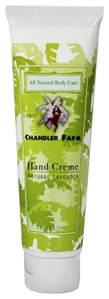 DROPPED: Chandler Farm - Hand Creme Natural Lavender - 3 oz.