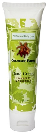 DROPPED: Chandler Farm - Hand Creme Cranberry & Mandarin - 3 oz.