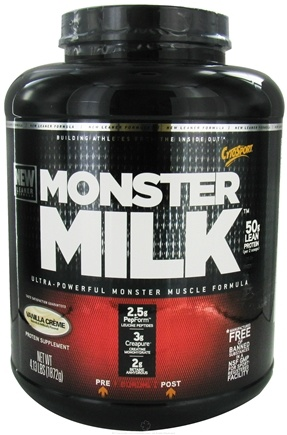 DROPPED: Cytosport - Monster Milk Ultra-Powerful Monster Muscle Formula Vanilla Creme - 4.13 lbs.