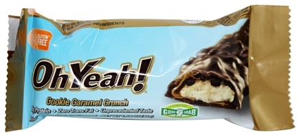 ISS Research - OhYeah Good Grab Protein Bar Cookie Caramel Crunch - 1.59 oz.