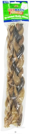DROPPED: Redbarn - Natural Braided Bully Sticks Dog Chews 12 in. - 2 Pack CLEARANCE PRICED