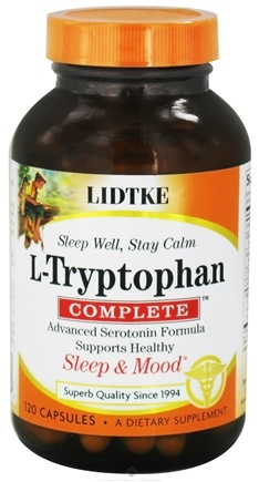 DROPPED: Lidtke Technologies - L-Tryptophan Complete - 120 Capsules