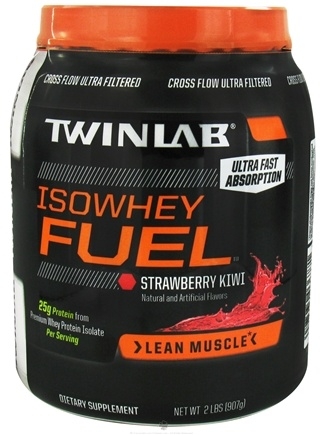 DROPPED: Twinlab - IsoWhey Fuel Strawberry Kiwi 30 Servings - 2 lbs. CLEARANCE PRICED