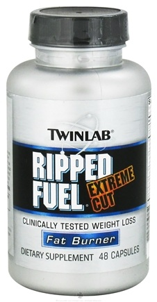 DROPPED: Twinlab - Ripped Fuel Extreme Cut - 48 Capsules