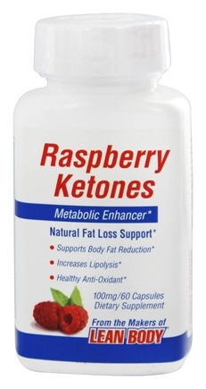 Labrada - Raspberry Ketones Metabolic Enhancer 100 mg. - 60 Capsules