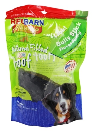 Redbarn - Natural Filled Hoof Dog Chew Bully Stick Flavor - 3.6 oz.