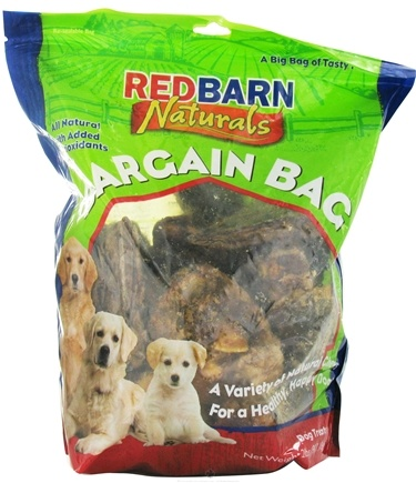 DROPPED: Redbarn - Natural Bargain Bag Dog Chews - 2 lbs. CLEARANCE PRICED