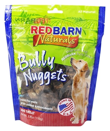 DROPPED: Redbarn - Natural Bully Nuggets Dog Chews - 3.9 oz.