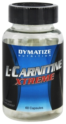 Dymatize Nutrition - L-Carnitine Xtreme 100% Pure Pharmaceutical Grade - 60 Capsules