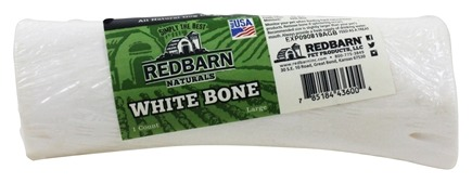 Redbarn - Natural White Bone Large Dog Chew - 6 in.