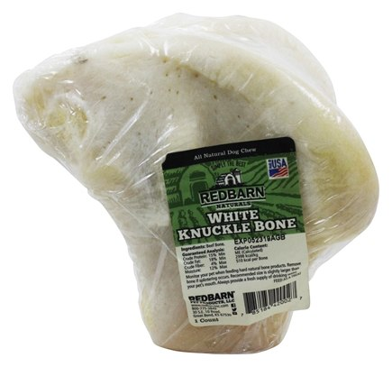 Redbarn - Natural White Knuckle Bone Dog Chew - 6 oz.