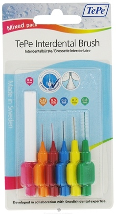 DROPPED: TePe Oral Health Care - Interdental Brush Variety Pack - 6 Piece(s)