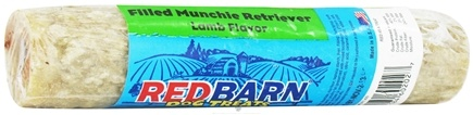 DROPPED: Redbarn - Filled Rawhide Munchie Retriever Dog Treat Lamb Flavor - 3 oz. CLEARANCE PRICED