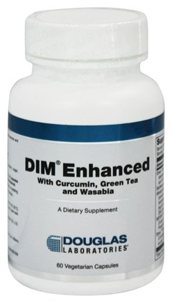 Douglas Laboratories - DIM Enhanced with Curcumin, Green Tea and Wasabia - 60 Vegetarian Capsules
