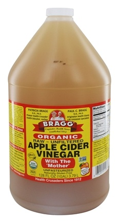 "Bragg - Organic Apple Cider Vinegar Gallon with ""Mother"" - 128 oz."