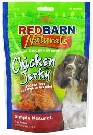 DROPPED: Redbarn - Chicken Jerky Dog Treats - 4 oz. CLEARANCE PRICED