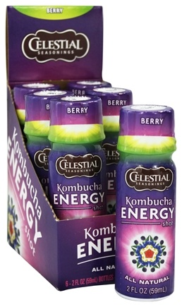 Celestial Seasonings - Kombucha Energy Shot Berry - 2 oz.