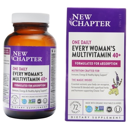 New Chapter - Every Woman's One Daily 40+ - 72 Tablets