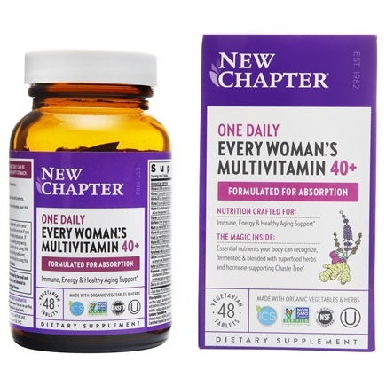 New Chapter - Every Woman's One Daily 40+ - 48 Tablets