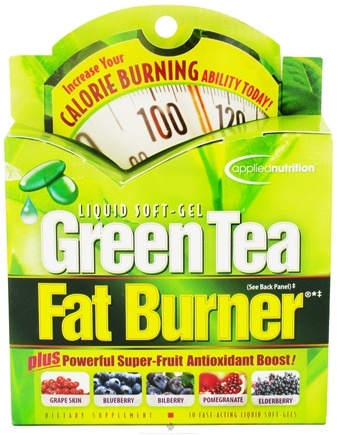 Applied Nutrition - Green Tea Fat Burner - 30 Softgels