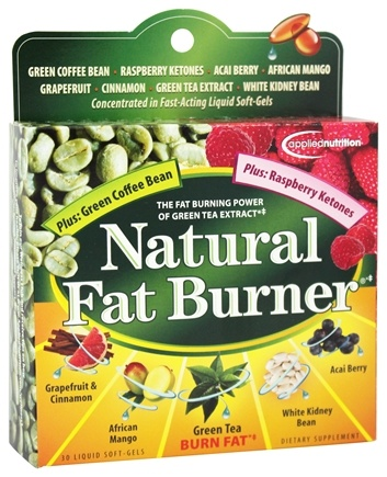 Applied Nutrition - Natural Fat Burner - 30 Softgels