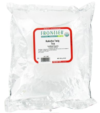 DROPPED: Frontier Natural Products - Bulk Kukicha Twig Tea Organic - 1 lb.