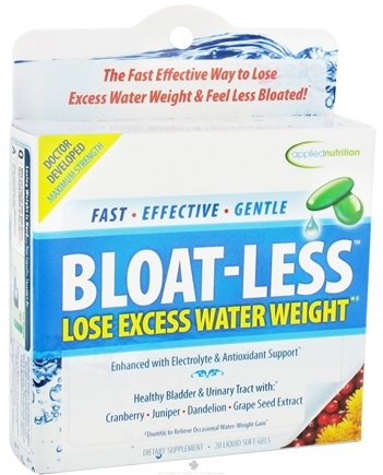DROPPED: Applied Nutrition - Bloat-Less - 20 Softgels