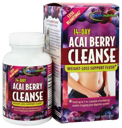 Applied Nutrition - 14-Day Acai Berry Cleanse - 56 Tablets