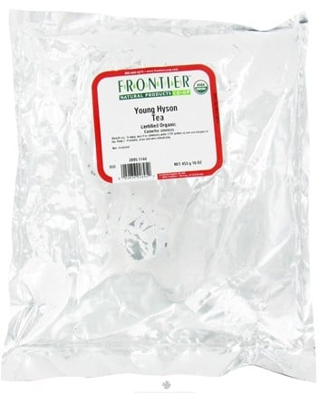 DROPPED: Frontier Natural Products - Bulk Young Hyson Tea Organic - 1 lb. CLEARANCE PRICED