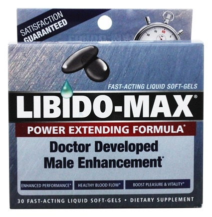 Applied Nutrition - Fast Acting Libido Max - 30 Softgels