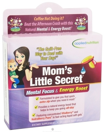 DROPPED: Applied Nutrition - Mom's Little Secret - 20 Softgels
