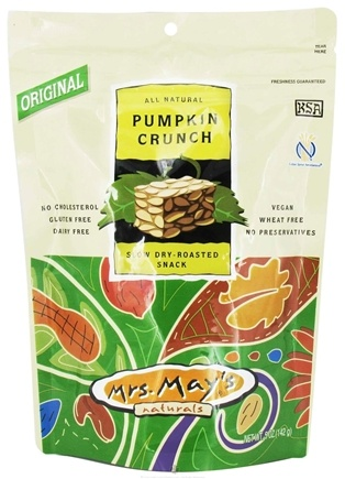 DROPPED: Mrs. May's Naturals - Slow Dry-Roasted Snack Pumpkin Crunch - 5 oz.