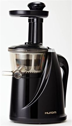 Hurom - Slow Juicer with Cookbook HRM0021 Black
