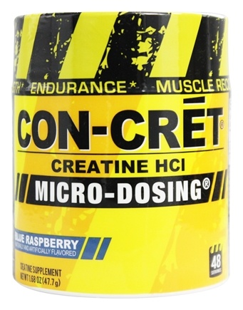 DROPPED: Promera Health - Con-Cret Concentrated Creatine 48 Servings Blue Raspberry 750 mg. - 2 oz.