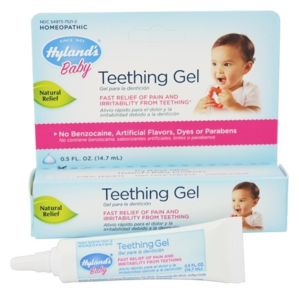 Hylands - Baby Teething Gel - 0.5 oz.