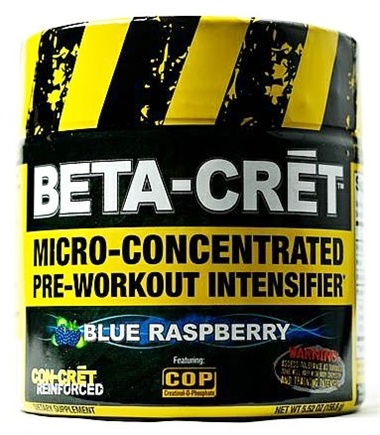 DROPPED: Promera Health - Beta-Cret Micro-Concentrated Pre-Workout Intensifier - 36 Servings Blue Raspberry - 5.52 oz. CLEARANCE PRICED