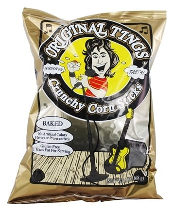 Pirate Brands - Original Tings Baked Crunchy Corn Sticks - 6 oz.