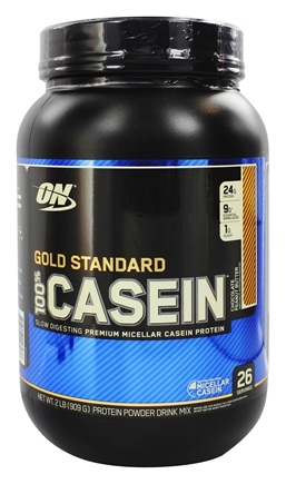Optimum Nutrition - 100% Casein Gold Standard Chocolate Peanut Butter - 2 lbs.