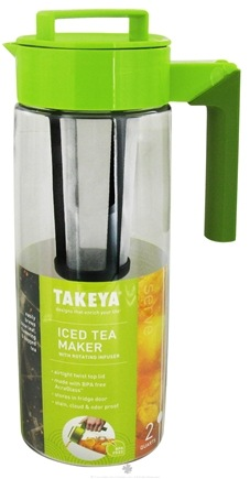 DROPPED: Takeya USA - Iced Tea Maker with Rotating Infuser - 2 qt.