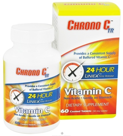 DROPPED: Chrono Healthcare - Chrono C TR Vitamin C - 60 Tablets CLEARANCE PRICED