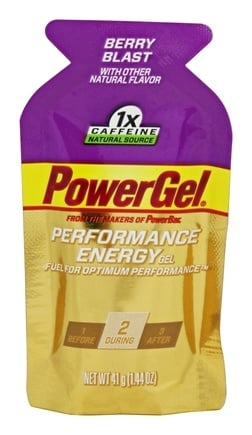 PowerBar - Performance Energy Gel Berry Blast - 1.44 oz.