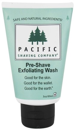 DROPPED: Pacific Shaving Company - Pre-Shaving Exfoliating Wash - 3 oz. CLEARANCE PRICED