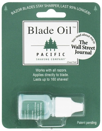 DROPPED: Pacific Shaving Company - All Natural Blade Oil Travel Size - 0.25 oz. CLEARANCE PRICED