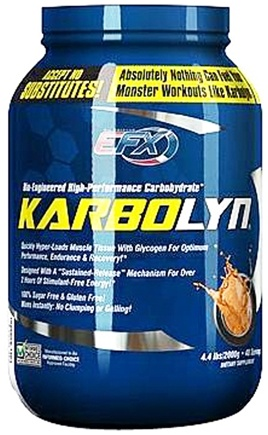 DROPPED: All American EFX - Karbolyn Bio-Engineered High-Performance Carbohydrate 40 Servings Fearless Fruit Punch - 4.4 lbs. CLEARANCE PRICED