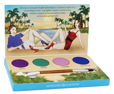 DROPPED: Honeybee Gardens - Party Girl Eye Shadow Palette - 1 Kit - CLEARANCE PRICED