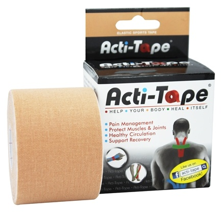 DROPPED: NutriWorks - Kinesiology Acti-Tape Beige - 1 Roll(s)