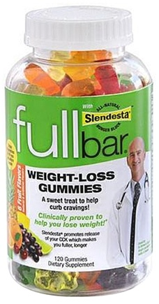 DROPPED: Full Bar - Weight Loss Gummies - 120 Gummies